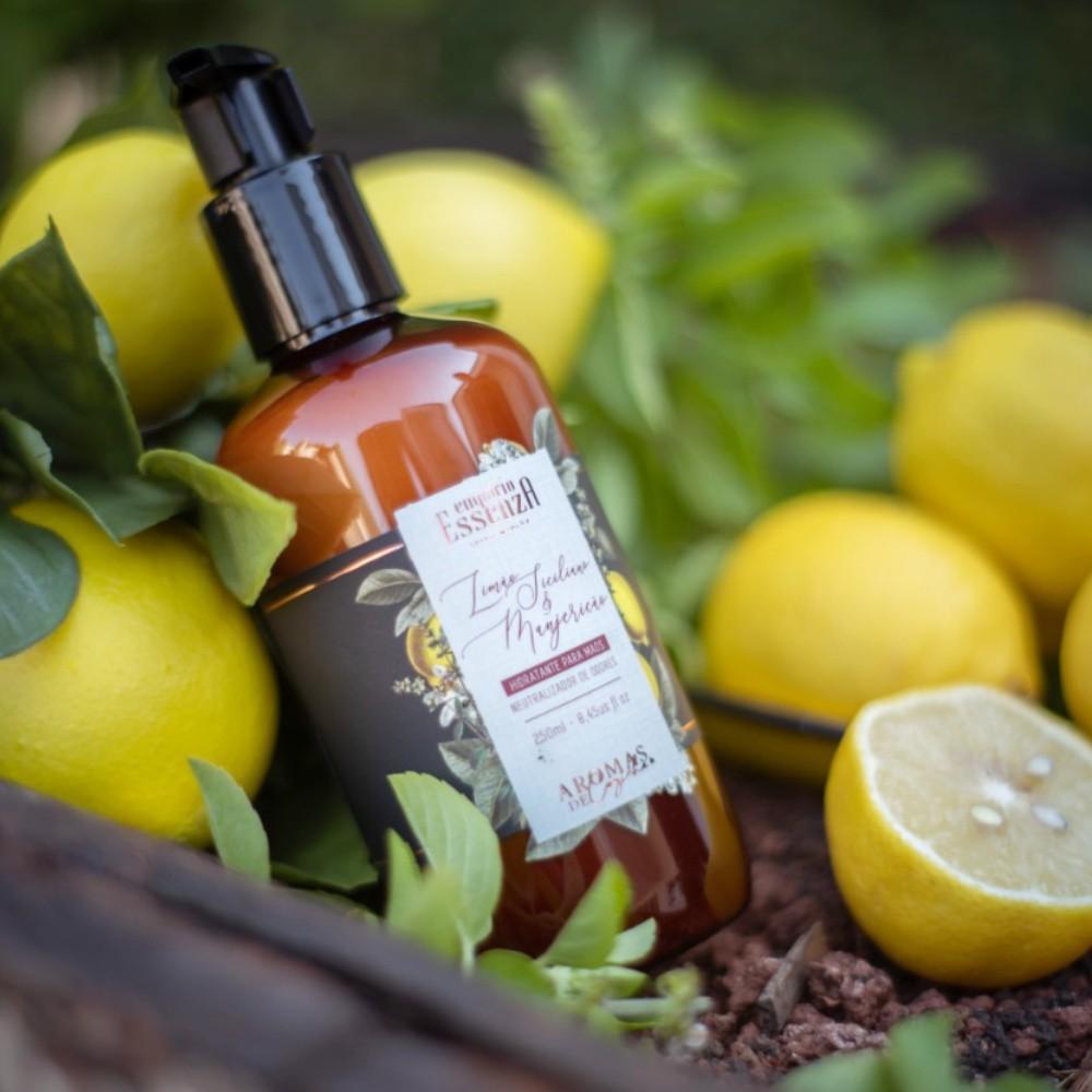Hidratante para as mãos Limão Siciliano e Manjericão 250ml
