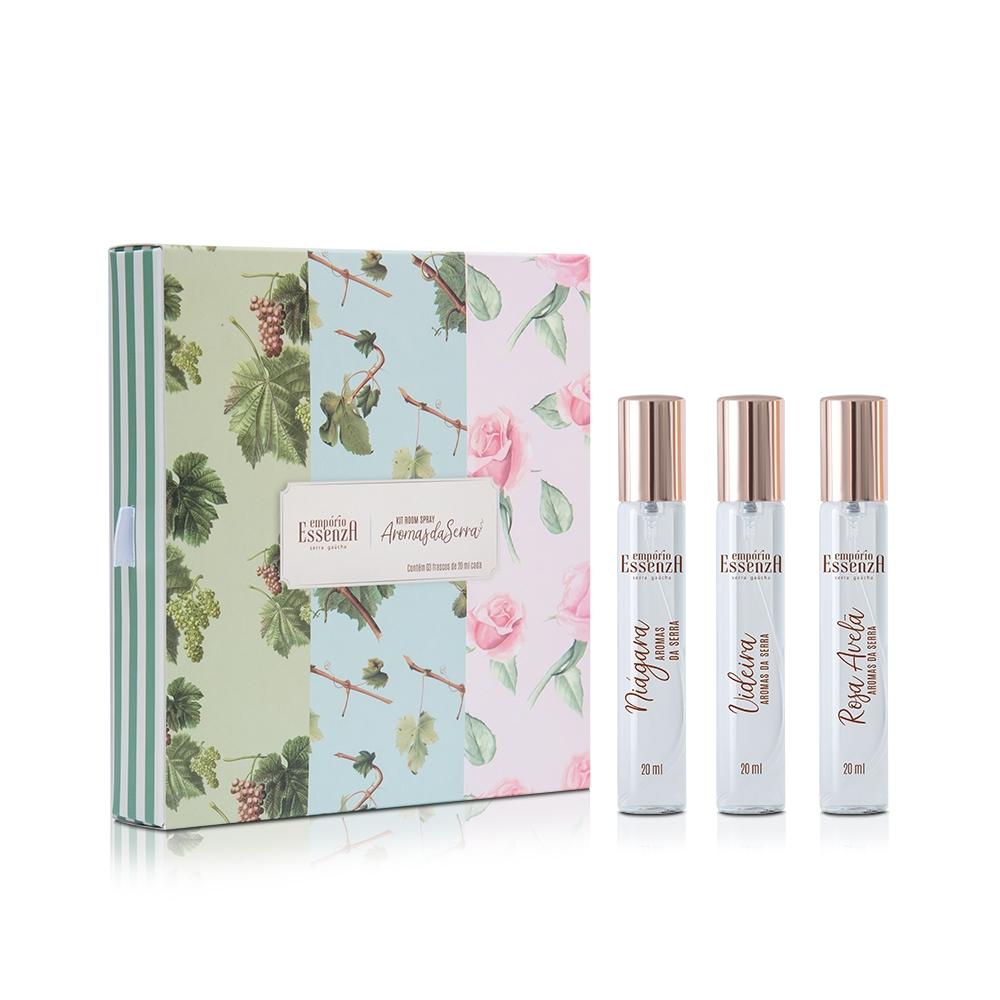 Kit Room Spray Aromas da Serra