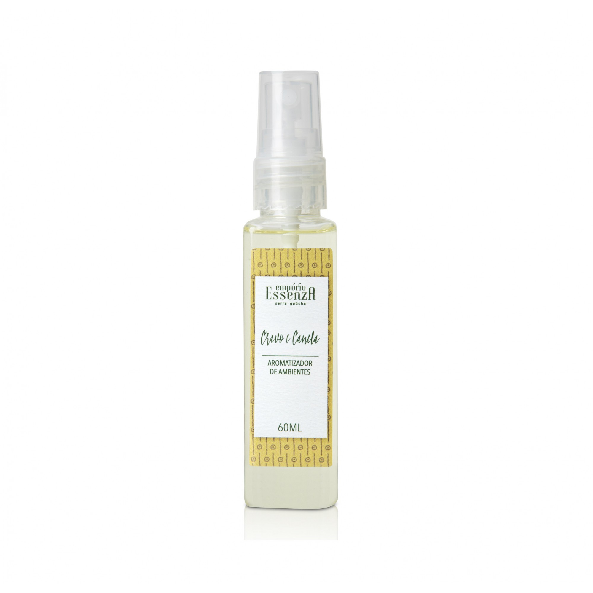Mini Aromatizador Room Spray Cravo e Canela 60ml