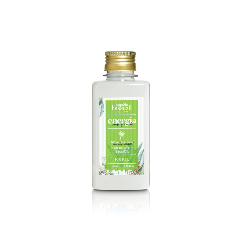 Refil Difusor de Aromas Flor de Lótus e Menta 250ml