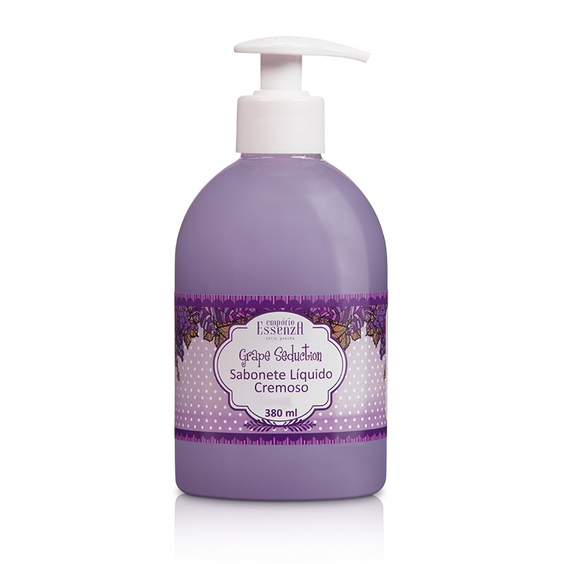 Sabonete Líquido Cremoso Grape Seduction 380ml