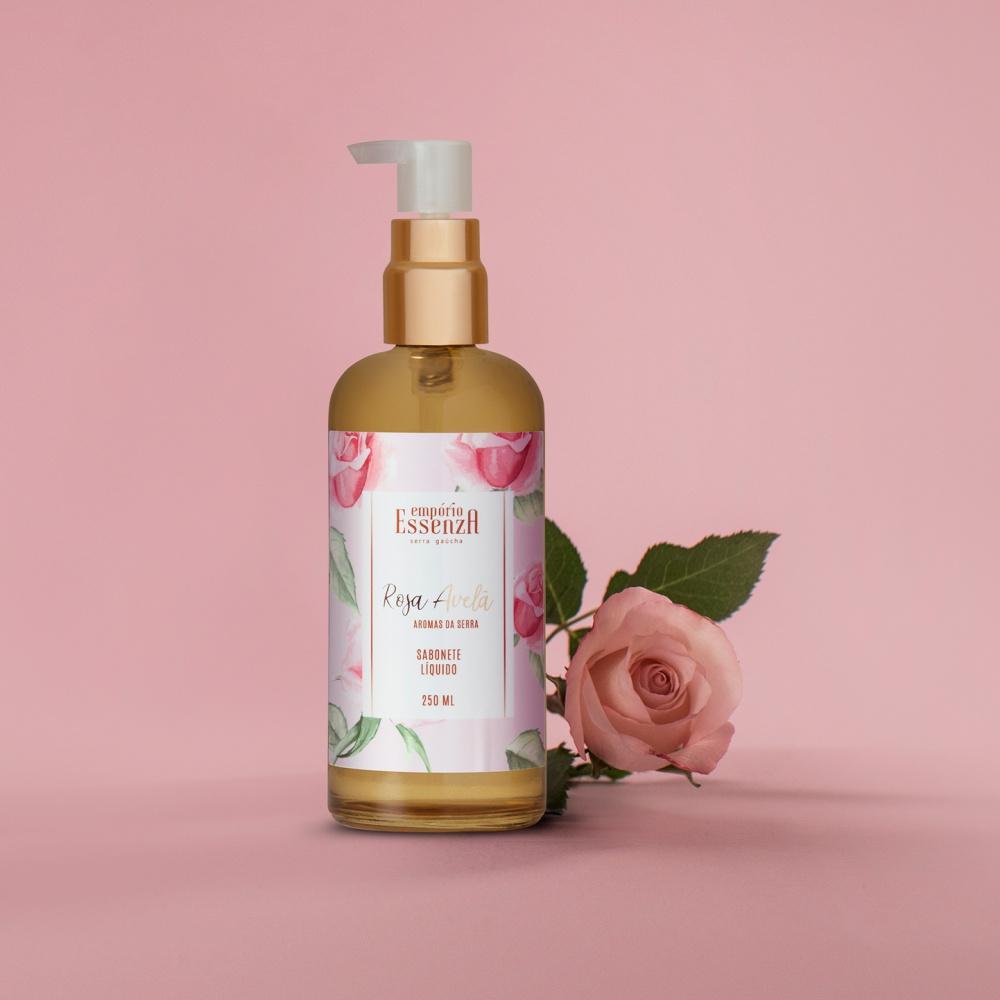Sabonete Líquido Rosa Avelã 250ml