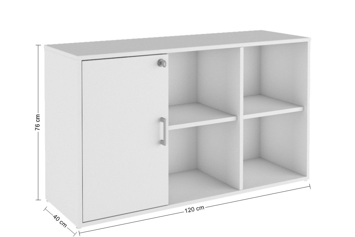 Armário Credenza Office Fit