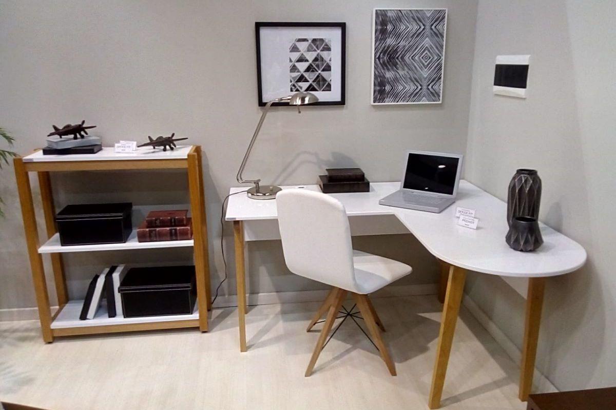 Escrivaninha em L Office Fit