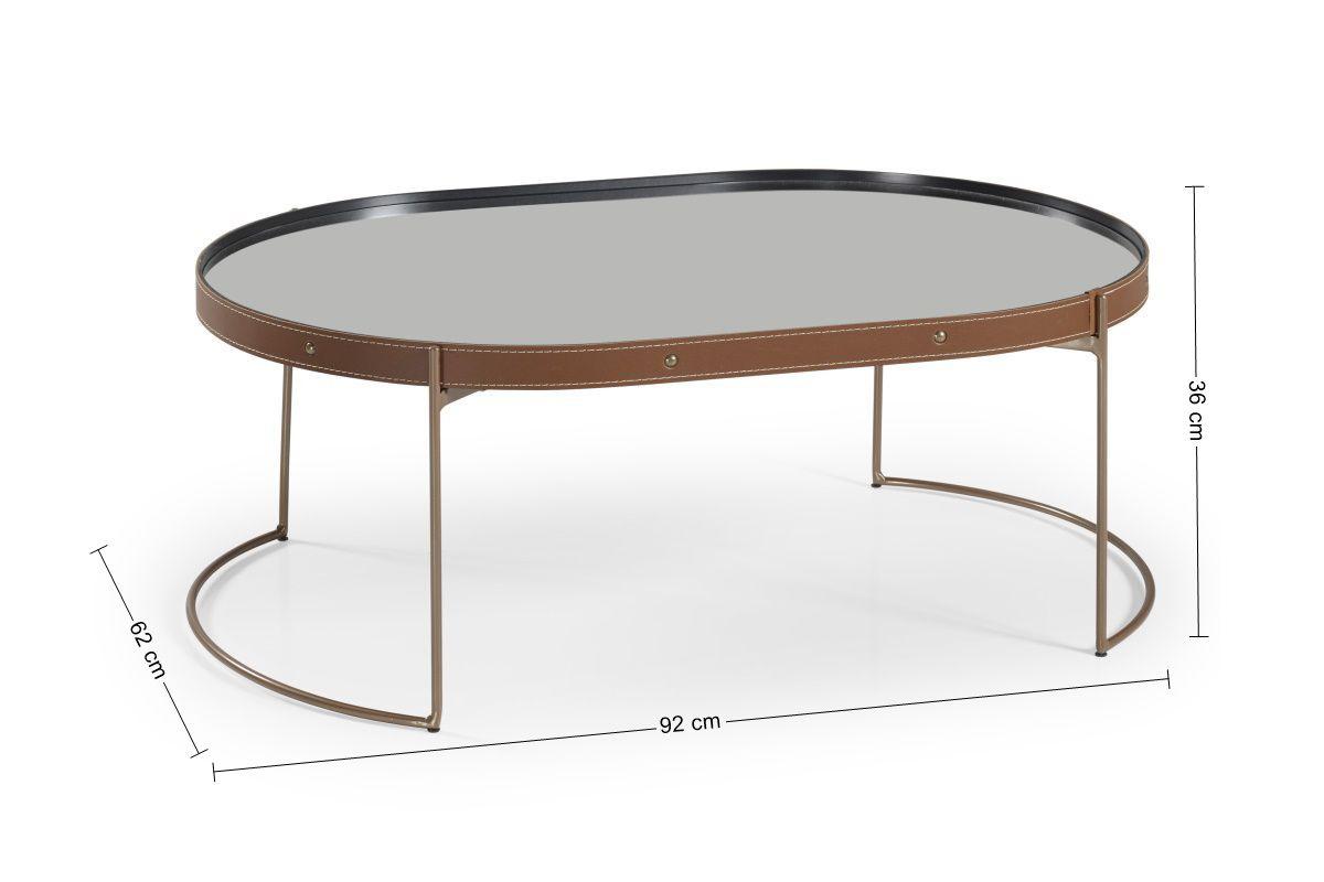 Mesa de Centro Oval Onix