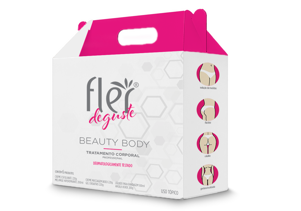 Kit Deguste Beauty Body Flér - Tratamento Corporal