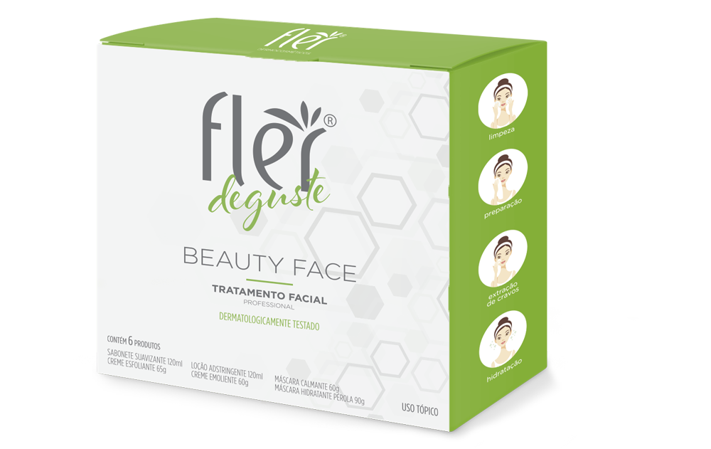Kit Deguste Beauty Face Flér - Tratamento Facial