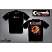 Camiseta Ceramic Power Multidisco Xtreme - Preta G