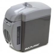 Cooler Portátil Mini Geladeira Multilaser 7 Litros 12V Refrigera e Aquece TV008