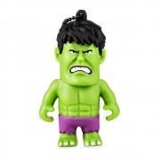 Pen Drive Hulk Marvel Vingadores Multilaser 8GB PD082