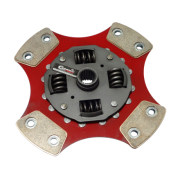 Disco de Cerâmica 4 ou 6 pastilhas com ou sem molas Gol G3 1.0 8v 16v 1.0 turbo 1.0 aspirado 200mm 28 estrias Ceramic Power