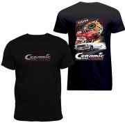 Camiseta Ceramic Power Gol / Opala - Preta XG