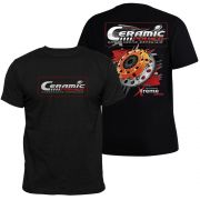 Camiseta Ceramic Power Multidisco Xtreme - Preta M