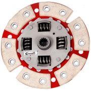 Disco Cerâmica 6 pastilhas com molas Corsa 1.0 / 1.4, Celta 1.0 / 1.4, Classic 1.0, Prisma 1.0 / 1.4, Agile 1.4, Montana 1.4 Ceramic Power