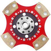 Disco Cerâmica 4 pastilhas sem molas Escort Logus Pointer Verona 1.8 2.0 89 a 97, Passat Alemão 2.0 94 a 98, Polo Classic 1.8 96 a 2003 Ceramic Power