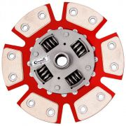 Disco Embreagem Cerâmica 6 pastilhas com molas Eclipse 2.0 GS 91 a 95, Colt 1.6 1.8 94 a 97, Lancer 1.6 1.8 92 a 2000 Ceramic Power