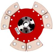 Disco Embreagem Cerâmica 6 pastilhas sem molas Eclipse 2.0 GS 91 a 95, Colt 1.6 1.8 94 a 97, Lancer 1.6 1.8 92 a 2000 Ceramic Power