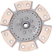 Disco Cerâmica 6 pastilhas sem molas Corsa Hatch / Sedan / SW / Pick-up / Classic 1.6 após 1995, Tigra 1.6 após 1998 Ceramic Power