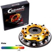 Embreagem Multidisco Xtreme Gold AP 1.6 1.8 2.0 Eixo do Câmbio Chevette Gol Parati Saveiro G1 G2 G3 G4 Voyage Santana Passat Ceramic Power