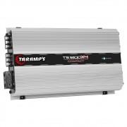 Módulo Amplificador Digital Taramps TS 1200x4 - 1200W RMS 4 Canais 2 Ohms Compact