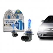 Par Lâmpada Super Branca HB3 8500k 55w X-Brightness Efeito Xenon Tech One