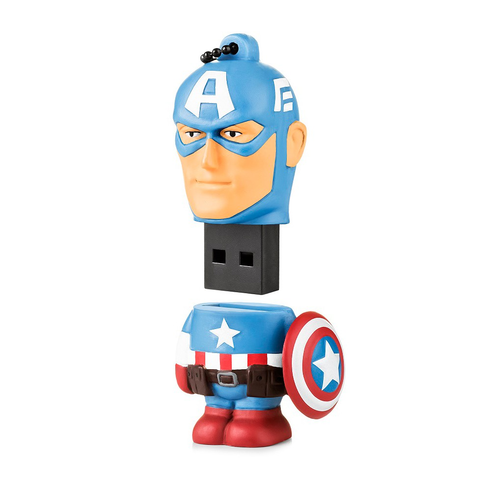 Pen Drive Capitão América Marvel Vingadores Multilaser 8GB PD080