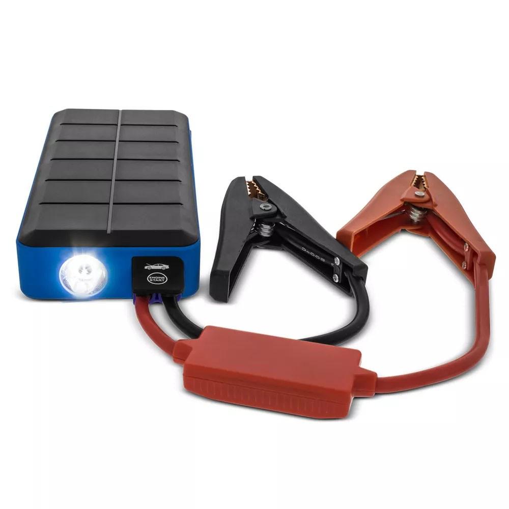 Acumulador Bateria Auxiliar de Partida Multifuncional Portátil USB e Iphone (ACB01)