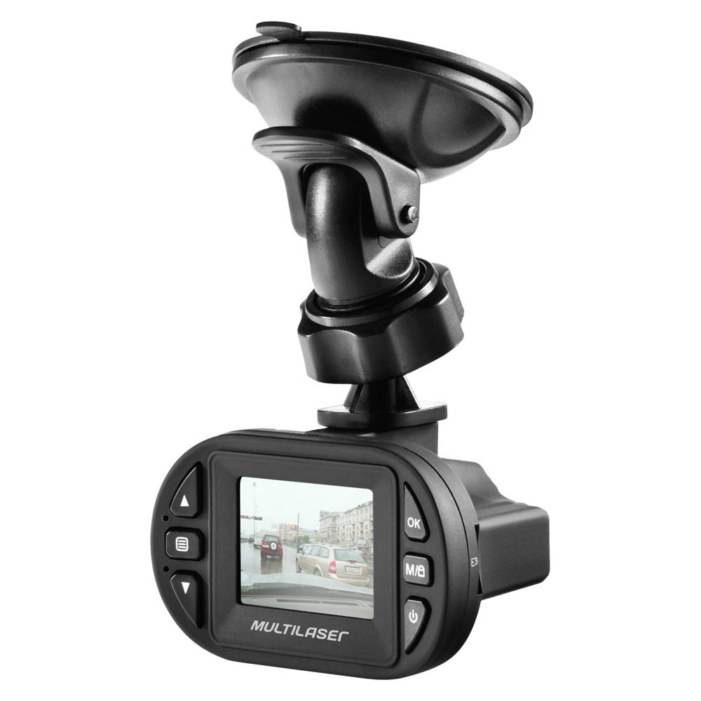 Câmera Filmadora Automotiva Multilaser Full HD com Visão Noturna - AU013 (DVR01)