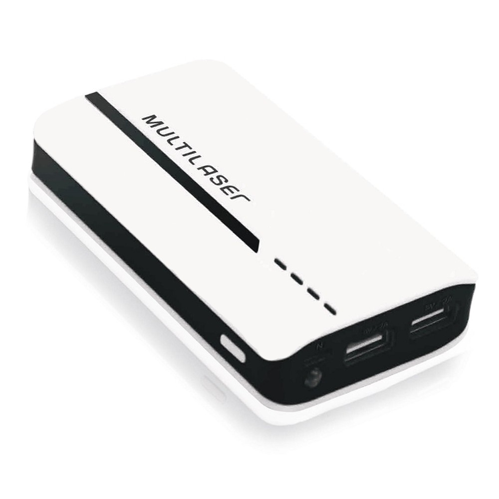 Carregador Portátil Power Bank 4500 mAh Multilaser CB077