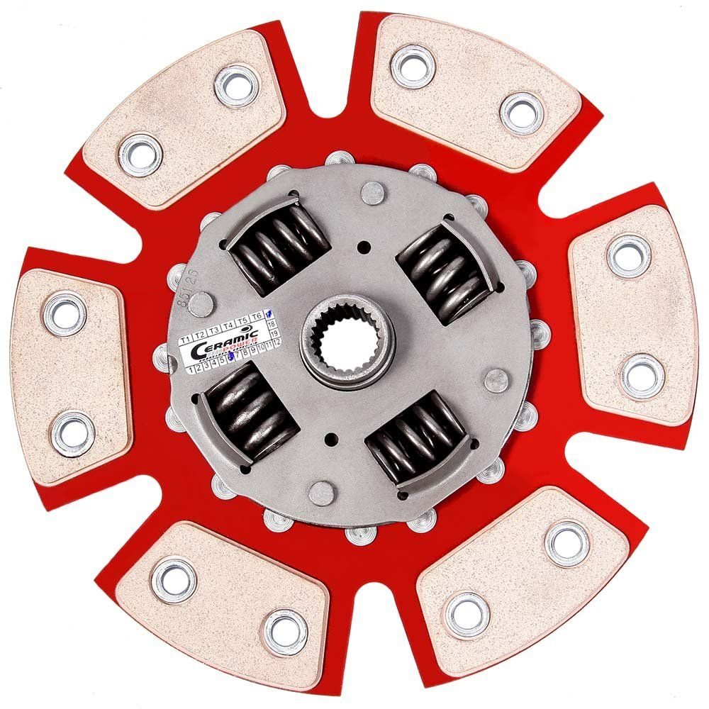 Disco Cerâmica 6 pastilhas com molas Vectra 2.2 8v/16v até 99, Calibra 2.0 16v - 94 95 Ceramic Power