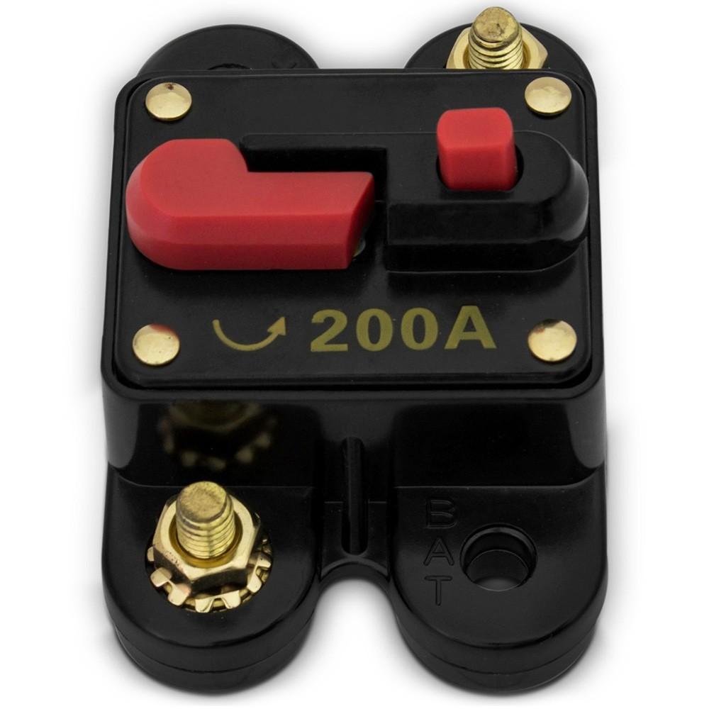 Disjuntor Automotivo Tech One 200 Amperes (DJ02)