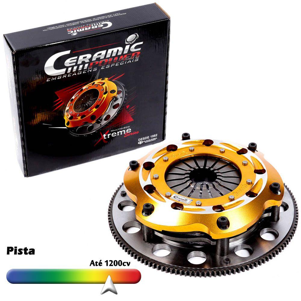 Embreagem Multidisco Xtreme Gold AP 1.6 1.8 2.0 Eixo do Câmbio GTI Gol Parati Saveiro G1 G2 G3 G4 Voyage Santana Passat Ceramic Power