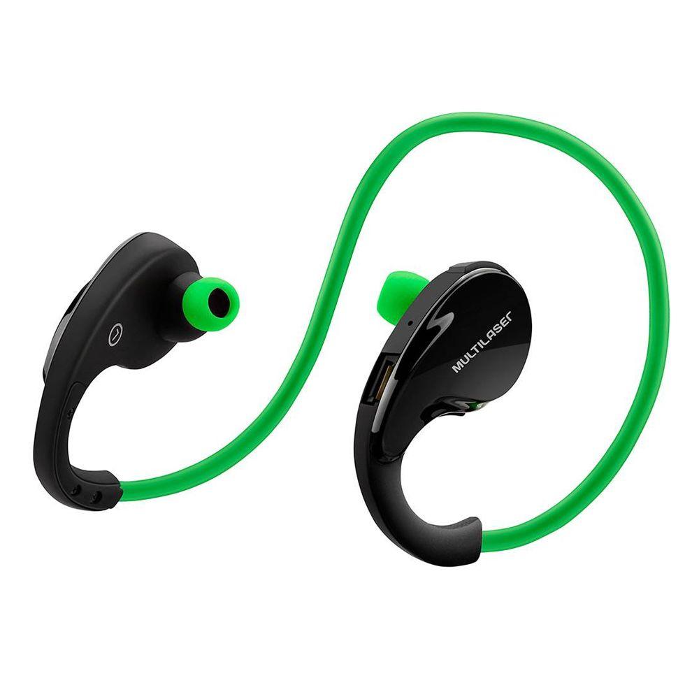 Fone de Ouvido Bluetooth Arco Sport Verde Multilaser PH184