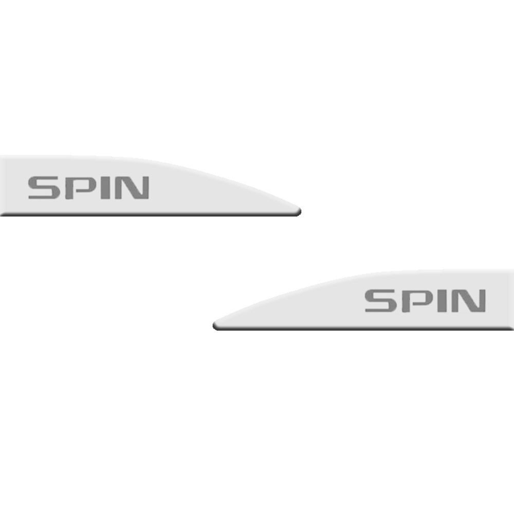 Jogo Friso Lateral Spin Branco Summit Slim 4 Peças