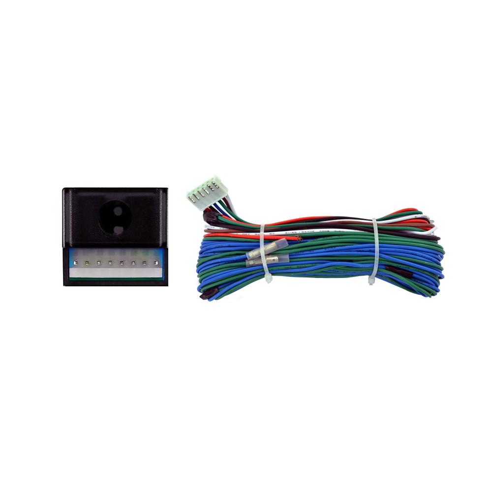 Kit Trava Elétrica 2 Portas Universal Mono Serventia  (KTE2P)