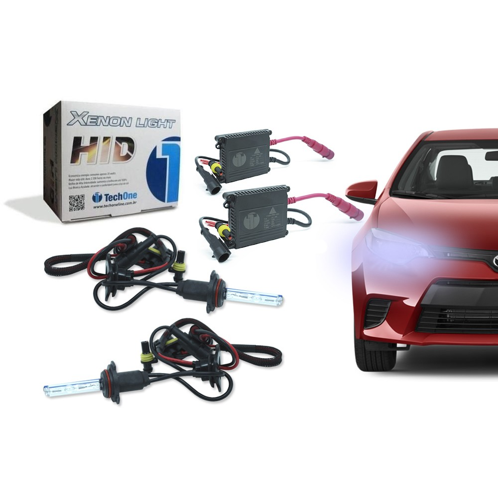 Kit Xenon Lâmpada HB4 8000K 35W 12V - Tech One