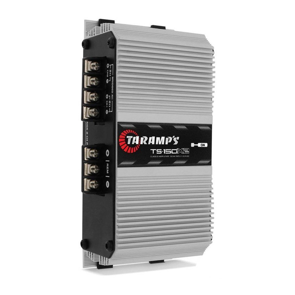 Módulo Amplificador Digital Taramps TS 150x2 - 150W RMS 2 Canais