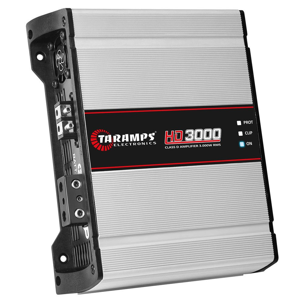 Módulo Amplificador Digital Taramps HD 3000 - 3000W RMS 1 Canal 2 Ohms