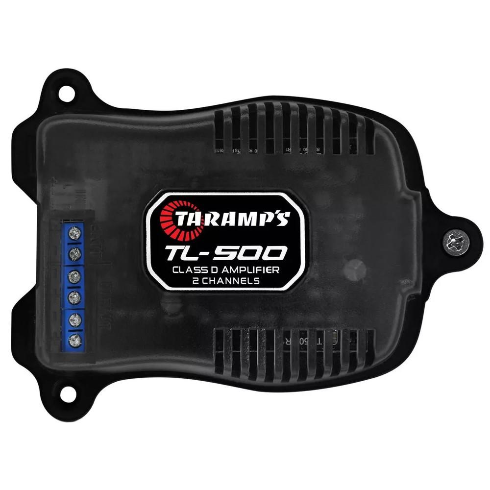 Módulo Amplificador Digital Taramps TL-500 - 100W RMS 2 Canais 2 Ohms