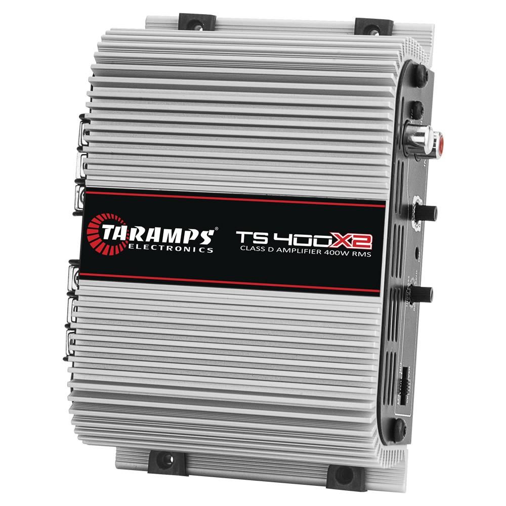 Módulo Amplificador Digital Taramps TS 400x2 - 400W RMS 2 Canais 2 Ohms