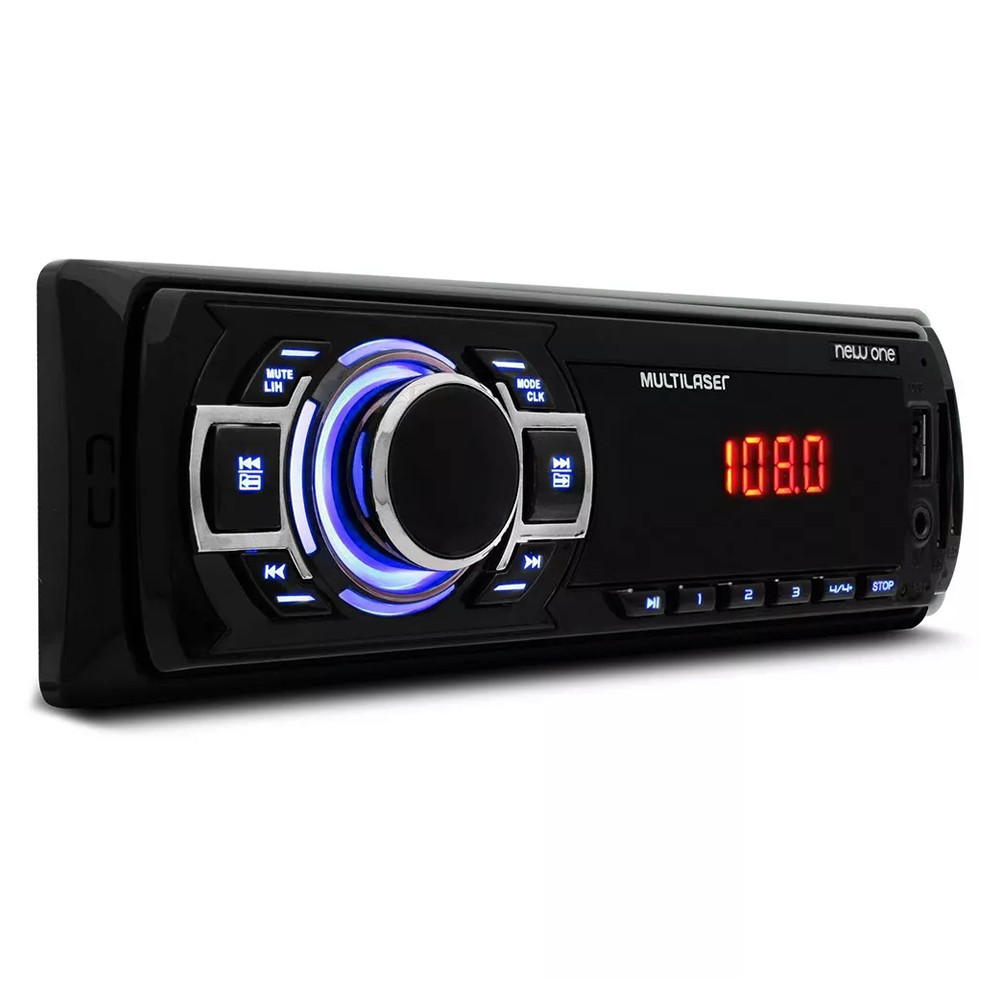 Mp3 Player Multilaser New One USB SD Radio FM Aux - P3318 (SA01)