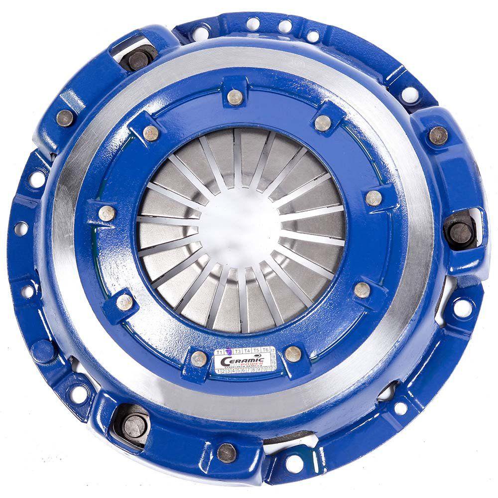 Platô Embreagem Cerâmica 700 lb AP 1.8 2.0 Gol Parati Saveiro G1 G2 G3 G4 Voyage Santana Passat Ceramic Power