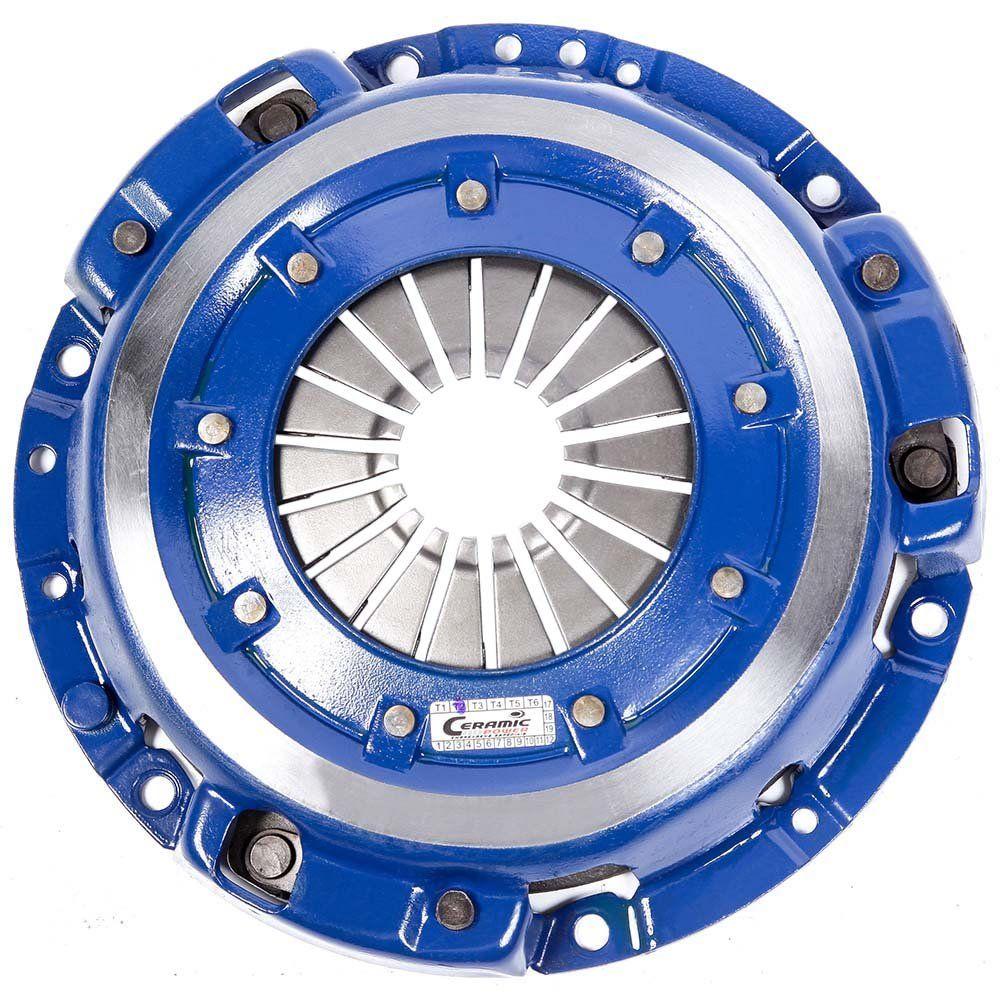 Platô Embreagem de Cerâmica 980lbs Escort 1.0 1.6 8v GL GLX Guia Hobby 94 a 96 200mm Ceramic Power