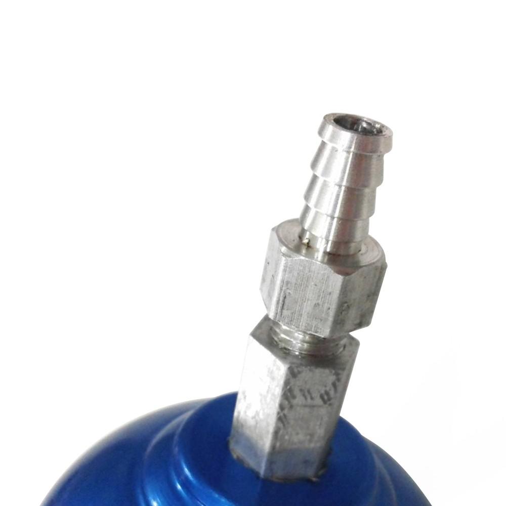 Reservatório de Óleo Pequeno 1/2 Litro Race Chrome Azul