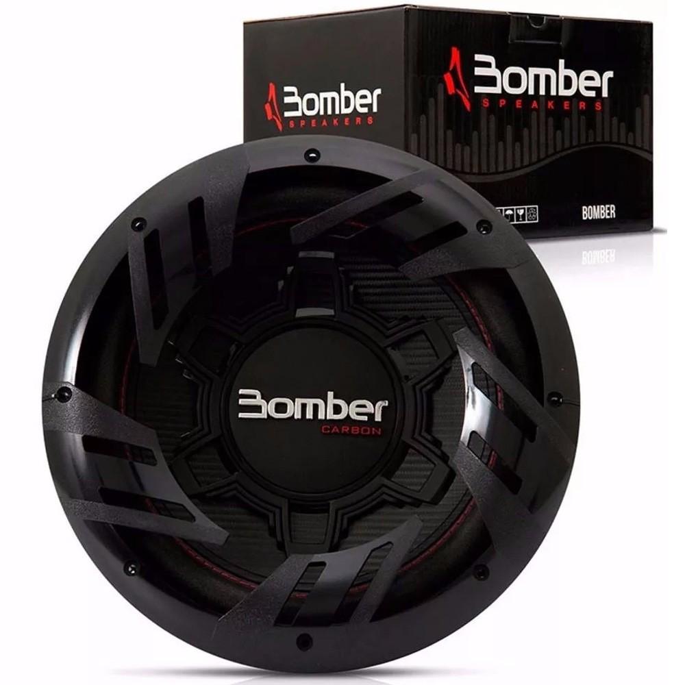 Subwoofer 12 Polegadas Bomber Carbon 250w 4 Ohms