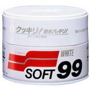 Cera de Carnaúba Cleaner White Wax 350g Soft99