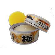 Cera sintética Extreme Gloss White Soft99 200g + FLANELA 40X60