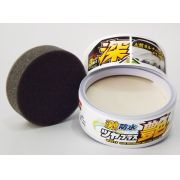 Cera Water Block Wax Gloss Branca Soft99 200g + FLANELA 40X60