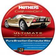 Cera em Pasta de Carnaúba Pura Califórnia Gold 340g Mothers