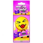 Aromatizante Smile Bubble Gum Areon